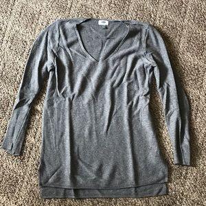 Maurice's gray sweater